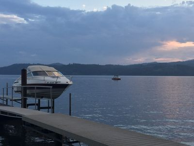 Photo for Breathtaking lake views, with dock and lake access!