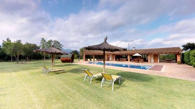 Photo for ELS CIRERERS-Farm Cottage near Barcelona with heated pool and barbecue