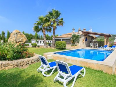 Photo for Villa Xisca: Large Private Pool, A/C, WiFi
