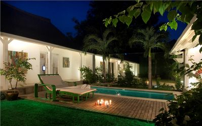 "Photo for Semeton, Luxury 3 BR Villa, ""Eat Street"" Seminyak"