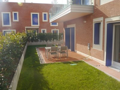 Photo for Venice Lido - Exclusive apartment with private garden