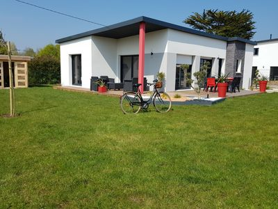 Photo for HOUSE LESCONIL SOUTH FINISTERE, 3 BEDROOMS, BEACH 500 M, SOUTH EXPO, BIKES, QUIET