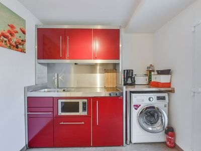 Photo for Cosy Holiday Apartment Trudi with Large Garden, Terrace & Wi-Fi; Parking Available, Pets Allowed