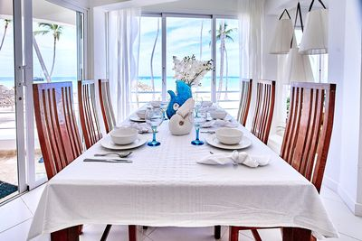 Just imagine having an ocean view breakfast with your family and friends