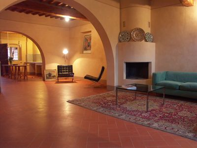 Photo for Classic triple room, in B&B of 1700, 5 km from Pisa
