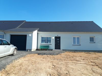 Photo for New house, 3 bedrooms, 100m2 with terrace and garage