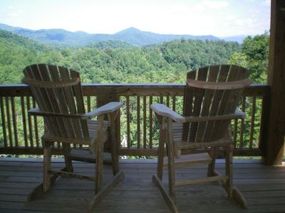 Photo for Great Rates-Echota on the Ridge-best view-no steps