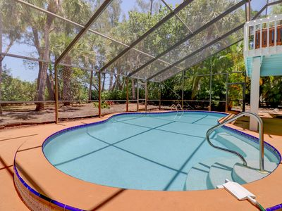 Photo for Junonia Dreaming: Stunning & Secluded Pool Home Close to Sanibel Beaches!