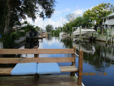 Photo for WATER FRONT HOUSE,  PET FRIENDLY, DIRECT GULF ACCESS .