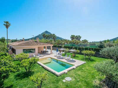 Photo for CAN SEGUE - Villa with private pool in Alcudia.