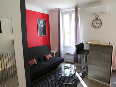 Photo for Flat Cannes 150m Palais : Amazing new one bedroom