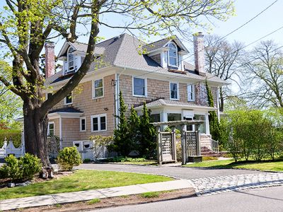 Photo for Gorgeous Colonial Home with Modern Comforts within Walking Distance to Village