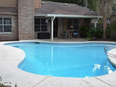Photo for Beautifully Upgraded Three Bedroom Houston Home with Pool