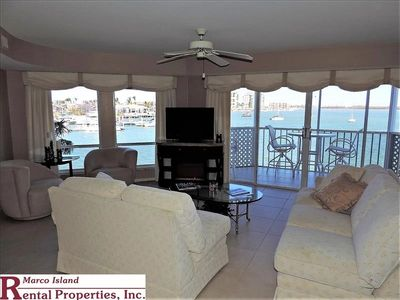 Photo for Beautiful 3 Bedroom Grand Bay waterfront Condo! Boatslip and covered parking. Restaurants within walking distance