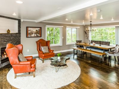 Photo for NEW LISTING! Modern dog-friendly escape w/ gourmet kitchen & mountain views!