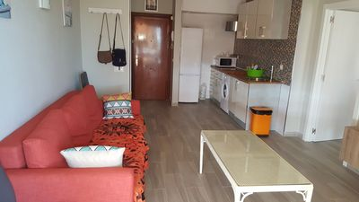 Photo for Beautiful Apartment Close to Beach with Balcony, Sea View, Pool & Garden