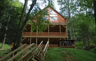Photo for 5BR Lodge Vacation Rental in Topton, North Carolina