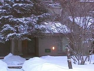 Front Entrance in Winter