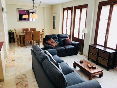 Photo for Giraldillo apartment in La Buhaira with WiFi, air conditioning & private roof terrace.
