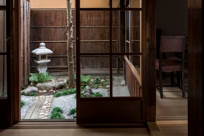 From the tatami room