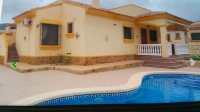 Photo for Hondon valley villa with swimming pool