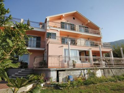 Photo for One bedroom apartment with balcony and sea view Mlini, Dubrovnik (A-8569-b)