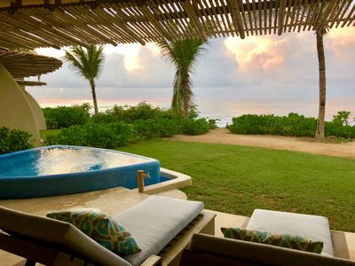 Photo for NEW Oceanfront Condo at Surf Break, private plunge pool -- INTRO PRICING! --