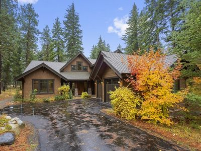 Photo for New Luxurious Home with Hot Tub, Fire Pit, Private Backyard, and Dining for 14!