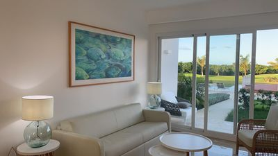 Photo for Modern 2 Bedroom Garden Suite at Cana Rock