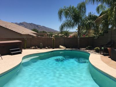 Welcome to Sonoran Sunrise! Relax in the backyard pool & hot tub.