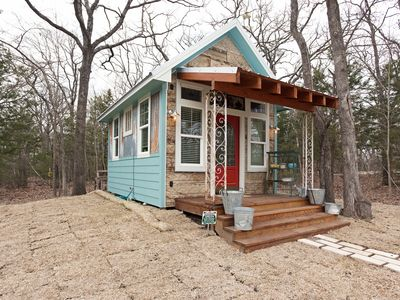 Photo for Garden Cottage - Charming Cabin in the Woods