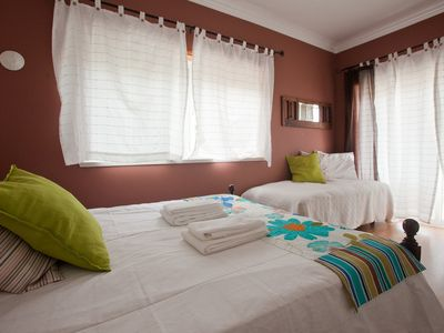 Photo for Double room in nice villa near the center with sea view