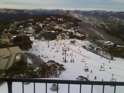 Photo for A701 TWIN TOWERS: Mt BULLER VILLAGE Ski In / SkOut