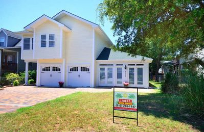 Photo for Spacious & Gorgeous 4 BR/4 BA Home-300 Feet to BEACH or a 2 Minute Walk-Sleeps 8