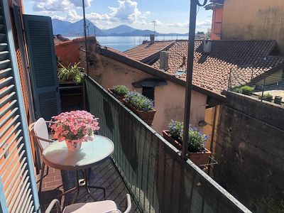 Photo for Tina apartment in the center of Feriolo with little balcony