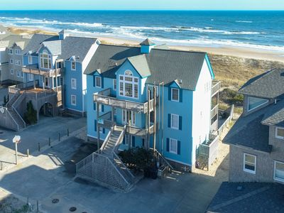 Photo for Carolina Morning - Peaceful 8 Bedroom Oceanfront Home in Frisco