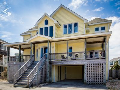 Photo for at OBX.CALM | 720 ft from the beach | Dog Friendly, Hot Tub