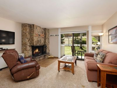 Photo for Ski-In/ Out Condo on Snowmass Mountain! Walk to Dining & Shops -Fireplace - Ski Storage - Parking