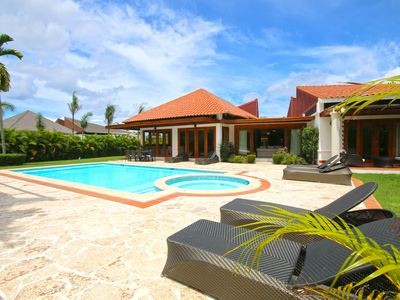 Photo for Beautiful Modern Villa, Private Pool, Maid, Chef, Large Yard, 8,000 Sq Ft