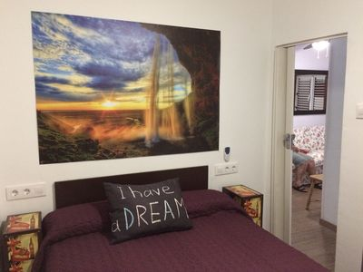 Photo for 3 bedroom apartment in the capital with free and easy parking and bus 24 h