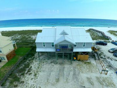 A Bird's Eye View...Nothing between you and the gulf but the pearly white sand!
