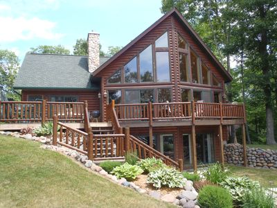 Photo for Hayward - Chalet on Clear Water 5,100 Acre Lac Courte Oreilles Lake