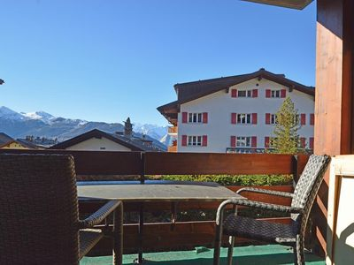 Photo for Charming one-bedroom apartment located in the centre of Verbier with, 1 minute from the central squa