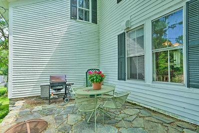 This home boasts plenty of outdoor space just 200 yards from Battenkill River!