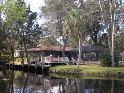 Photo for Deep Water Retreat, Dock, Heated Pool, Bicycles, Double Kayak, Great Location!