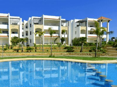Photo for Beachfront apartment in Marina Asilah Golf 4204