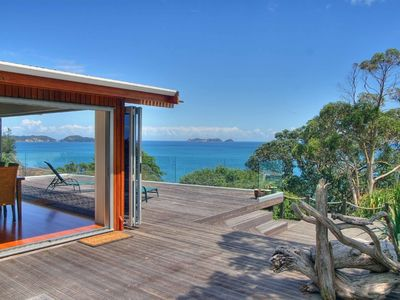 Photo for Waitete Bay Luxury Retreat - Fabulous Views