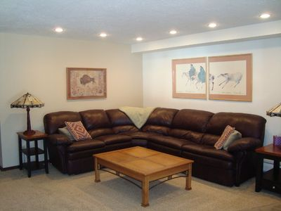 Updated Spacious Living Room