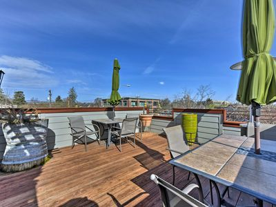 Photo for 'The Loft on Center' Downtown Logan Apt. w/ Deck!