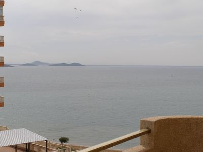Photo for Apt. AgataI, p1, 3ºB, 3 bedrooms, 2 bathrooms, magnificent views, freshest and pool